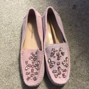 New pink loafers